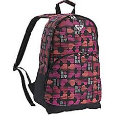 ROXY Girl Sunday Morning Black Backpack - END OF SEASON SALE