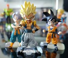 3 FIGURINES TRUNKS GOTEN SANGOTEN GOTRUNKS DRAGON BALL Z DBZ GASHAPON FIGURE HG