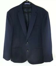 Skopes Mens Blue Wool Blend Sports Classic Jacket Blazer Size 38 R Tailored Fit