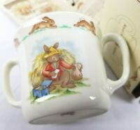 Bunnykins Royal Doulton Easter Hug A Mug England Childrens Fine Bone China