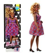 Mattel DVX79 Barbie Zig & Zag Fashionistas 57 Bambola Vestito Stampa Tribale