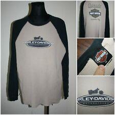 HARLEY DAVIDSON Men's size XXLARGE Long sleeve Heavy Waffle knit Shirt / Top