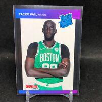 2019-20 Tacko Fall Panini Retro Rated Rookie Card RC 1989 Donruss Celtics SP