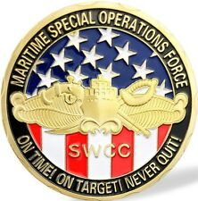 U.S. NAVY MARITIME SPECIAL OPERATIONS FORCE SWCC CHALLENGE COIN