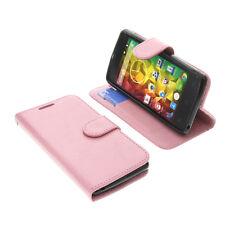 Tasche für MEDION Life E4503 Book-Style Schutz Hülle Handytasche Buch Pink