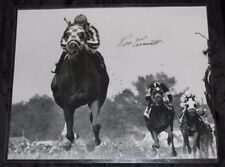 Ron Turcotte Authentic Autographed Signed Secretariat Jockey 11x14 Photo W/COA