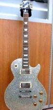 Used! Edwards by ESP Les Paul Standard Guitar E-LP-98SD Sparkle Silver Duncan