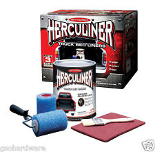 Herculiner Truck Bed LINER KIT For Pick-Up Truck Beds Roll Brush On  NEW!!