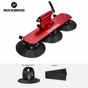 ROCKBROS One-Bike Bicycle Suction Rooftop Quick Installation Red Roof Car Rack