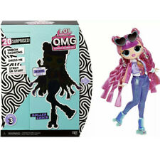 Lol Surprise Series 3 Omg Roller Chick Fashion Doll L.O.L. Doll w/ 20 Surprises