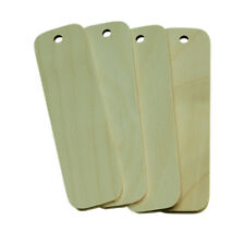 Wood Blanks for Pyrography 4 Birch Plywood Large Key Fob Blanks