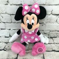 Disney Store Disney Minnie Mouse Plush Soft Doll Classic Outfit Stuffed Animal