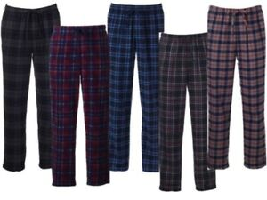 Men's Croft& Barrow Patterned Microfleece Lounge Pants Pajama Pants Multi Color