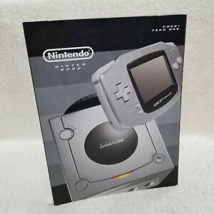 ⭐Nintendo Winter 2002 Promotional Catalog Gamecube Game Boy Advance⭐👀