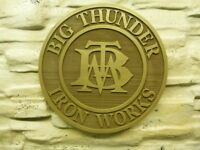 Walt Disney World Magic Kingdom BIG THUNDER MOUNTAIN IRON WORKS..