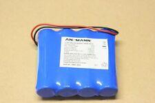 Pack accu Li-Ion rechargeable 18650 4S1P ANSMANN 447-3003 , 14.8V / 2250mAh