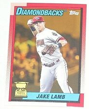 2013 Topps Archives Gold Parallel #90ASI-JL Jake Lamb '90 Style AS Rookie 12/50