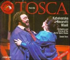 NEW Puccini: Tosca - Pavarotti, Kabaivanska, Wixell, Oren (2 CD Set 1993)