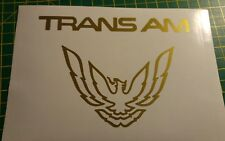 ****Trans Am decal set stickers graphics eagle Pontiac Firebird****