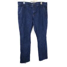 Old Navy The Flirt Mid-Rise Jeans Women Size 16 Dark Wash Blue Stretch Cotton