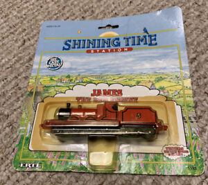 1992 Ertl Shining Time Station JAMES THE RED ENGINE Thomas The Train #1192 New