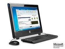 "HP 100B All In One 20"" AMD E350 - 1.6GHz, 4GB, 500GB, DVD, Windows 10 Home WiFi"