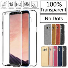 Shockproof 360° Ultra Slim Gel Case Cover For Samsung Galaxy S7 S8 S9 + S9 Plus
