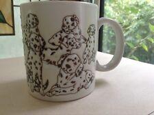 Otagiri Dalmation Dog Puppy Cream Coffee Mug Cup Angela Ackrman