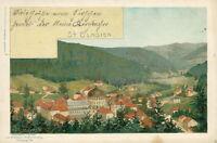 Ansichtskarte St. Blasien 1899 Künstlerkarte Mund  (Nr.760)
