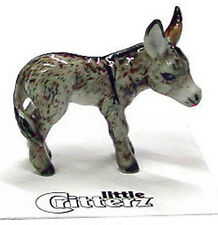 ➸ LITTLE CRITTERZ Farm Field Animal Miniature Figurine Donkey Duffy