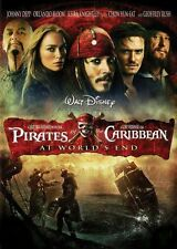 Disney Pirates of the Caribbean At World's End DVD Widescreen - Johnny Depp 2007