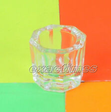 Crystal Nail Art Aclrylic Liquid Glass Container For Arcylic Nail