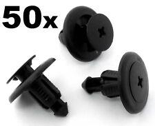 50x SUBARU clips panneau garniture en plastique-pare-chocs sideskirt passage de roue doublure Garde-boue