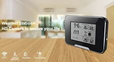 Wi-Fi HD 1080P Weather Station with Hidden Motion Detection Camera