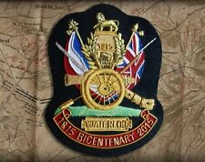 Battle of Waterloo Bicentenary Blazer Badge 1815 ~ 2015