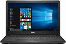 """New Dell 15.6"""" laptop i3-7130u 8GB RAM 1TB HDD HDMI Bluetooth WIFI Win10 Black"""