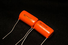 10 Pcs Sprague Orange Drop 715P 600V 0.1uF capacitor .1uF 104 CDE SBE