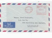 bankok 1964 machine cancel stamps cover  ref 10129