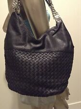 BRAND NEW black leather look Hand bag by Novo RRP $69.95 Good Quality