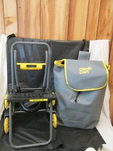 CLIMB CART STAIR CLIMBING FOLDING LIGHTWEIGHT UTILITY TROLLEY Up to 75 lb. USED