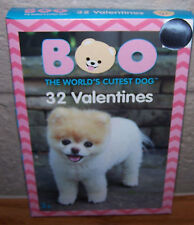 Valentines Day Cards (Box of 32) Boo The World's Cutest Dog