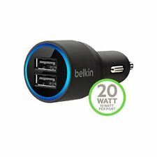2.1A Belkin 2-USB Car Charger For iPhone X 8 7 6S 6 5S 5C iPad / Samsung Huawei