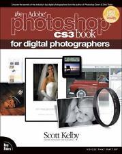 The Adobe Photoshop CS3 Book for Digital Photographers, Kelby, Scott, Good Condi