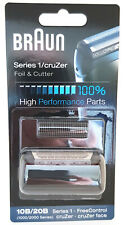 GENUINE BRAUN 20S 2000 Series Cruzer Shaver Replacement Foil Cutter 20Z 30Z 40Z