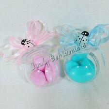 Bomboniere nascita ciuccio plexiglas confettata per nascita porta confetti crisp