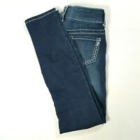 MAURICES Womens JEGGING Low Rise Skinny Jeans Dark Wash Size XS - REGULAR