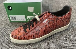 Puma Clyde Snake Red/White BRAND NEW Size 11