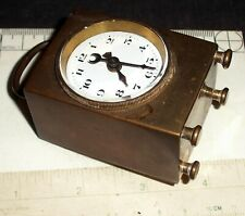Unusual Swiss Antique Alarm Clock