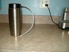 Jura Stainless Steel Milk Container with Lid 20 Oz