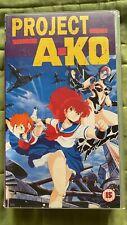 project a-ko anime vhs